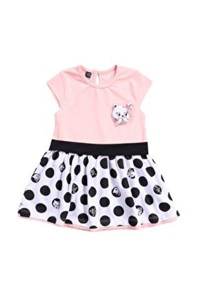 Miniworld Kız Bebek 6/24 Ay Penye Pamuklu Elbise