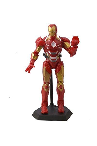 Can Ali Toys Sesli, Işıklı Legend Series Standlı Ironman (demir Adam) Oyuncak Figür - 30cm
