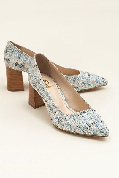 Elle Shoes LEANORA Mavi Multi Kadın Ayakkabı