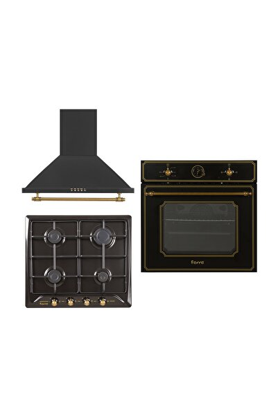 Ferre Ultra Black Rustic Set ( S RST 600 (NEW) - S R640 CE - 4004 )