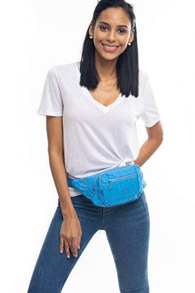 United Colors of Benetton Mavi Kadın Bel Çantası BNT230