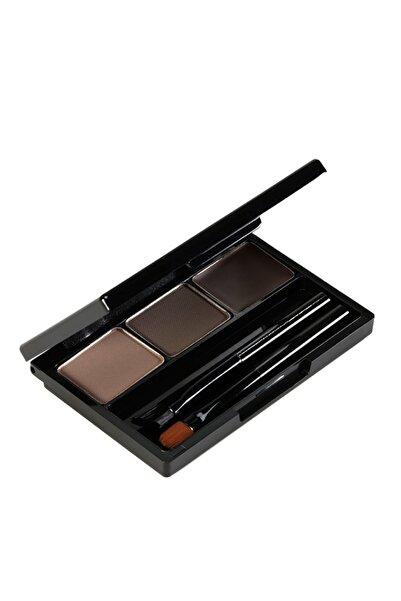 Holika Holika Wonder Drawing Eyebrow Kit Kaş Belirginleştici Far 01 Dark Brow - Kaş Farı