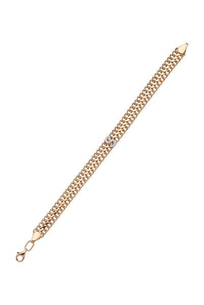 Murat Art Jewellery Harfli Vintage Zincir Bileklik