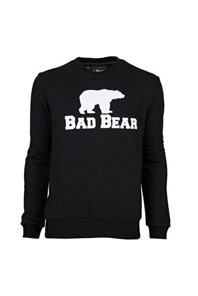 Bad Bear Erkek Siyah Sweatshirt Crewneck 20.02.12.011