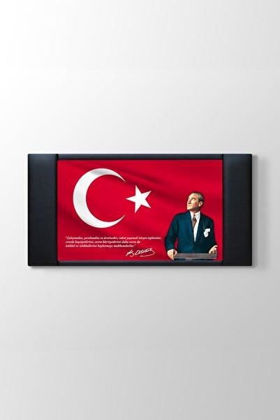 TabloShop Atatürk Resimli Makam Panosu (Makam 1) - (ÖLÇÜSÜ 150x70 cm)