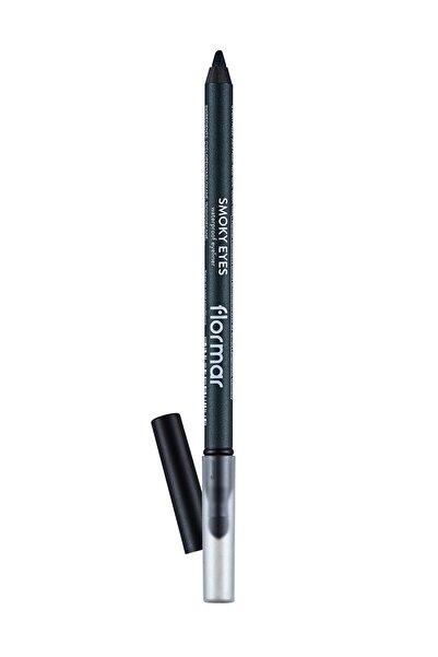 Flormar Suya Dayanıklı Göz Kalemi - Smoky Eyes Waterproof Eyeliner 003 Deep Khaki 8690604547265