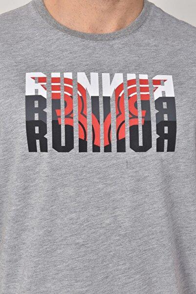 bilcee Gri Erkek T-shirt  GS-8811