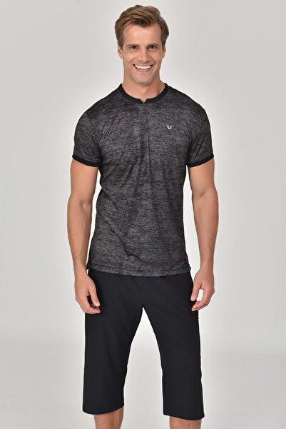 bilcee Siyah Erkek T-Shirt GS-8840