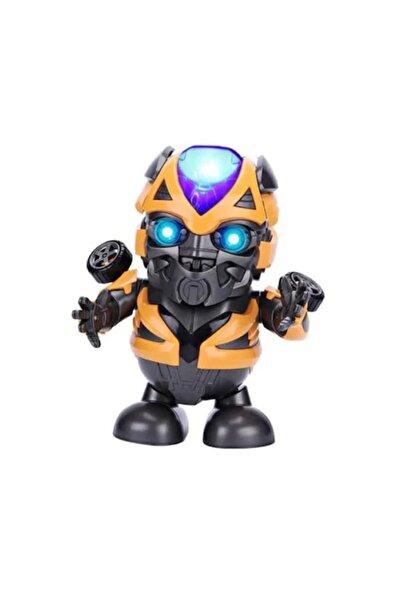 home accessories Bumblebee Dans Eden Müzikli Robot Işıklı Çok Foksiyonlu Oyuncak Kutulu