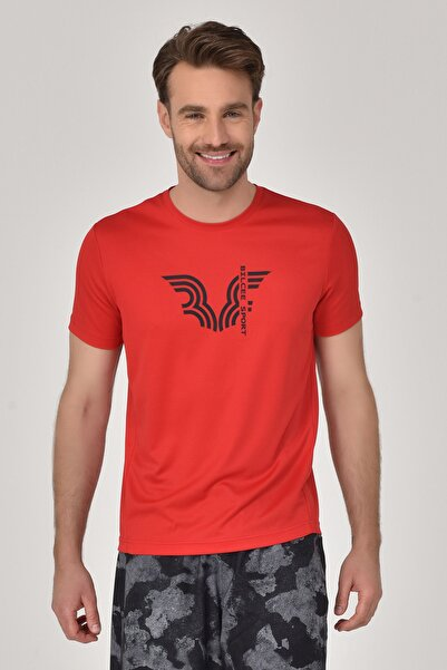 bilcee Kırmızı Erkek T-shirt  GS-8800