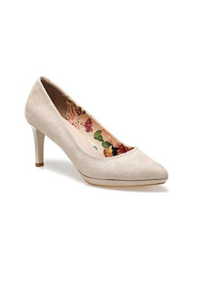 Miss F DS20038 Bej Kadın Topuklu Ayakkabı 100517584