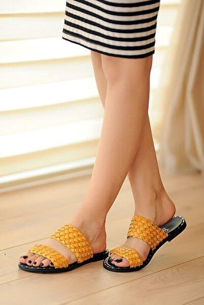 Hardal Kadın Sandalet A0100-20