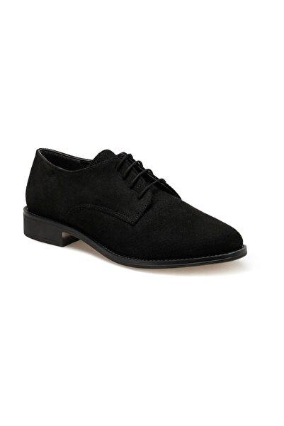 Miss F DS20055 Siyah Kadın Oxford Ayakkabı 100517622