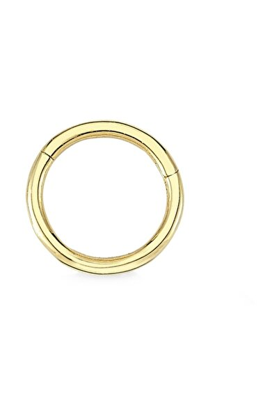 Altın Sepeti Altın Halka Tragus Piercing Küpe
