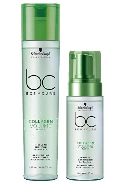 Bonacure Collagen Doğal Hacim Saç Bakım Şampuanı 250 ml +  Krem 150 ml 40457874297702