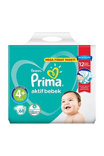 Prima Prima Aktif Bebek Mega Fırsat Paketi 4+No Maxiplus 68'li