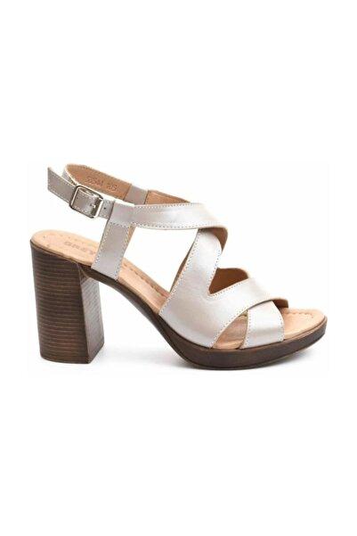 Greyder Kadın Vızon Sedef Sandalet 0Y2TS53544