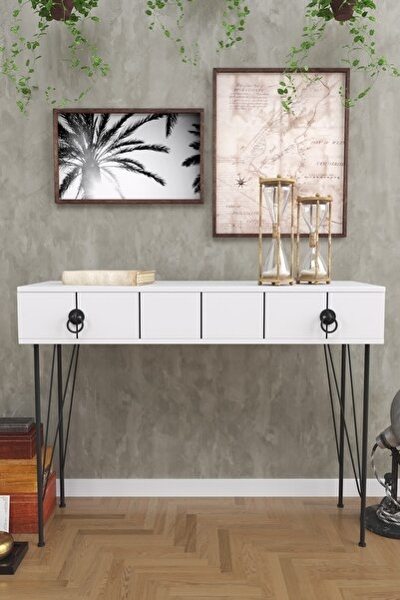 Evdemo Asia Çekmeceli Dresuar Beyaz