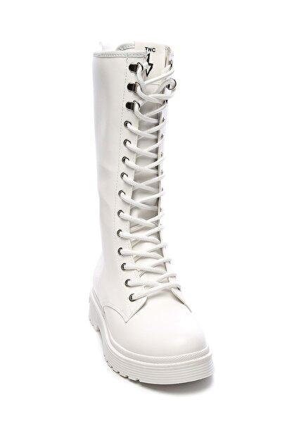 KEMAL TANCA Beyaz Kadın Vegan Sneakers & Spor Çizme 402 2502C BN CZM SK19-20