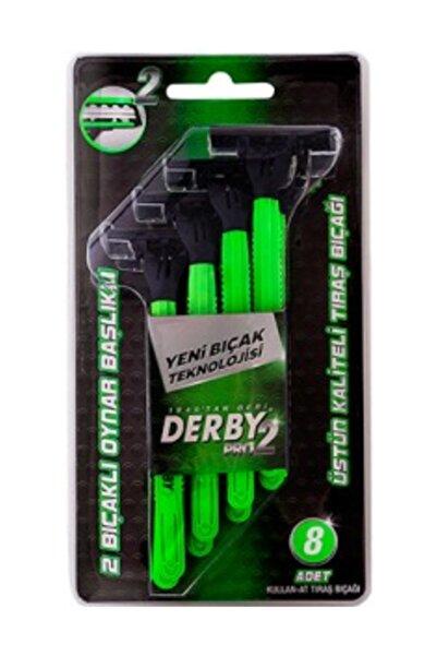 Derby Pro 2 Oynar Başlıklı Tıraş Bıçağı 8 Li