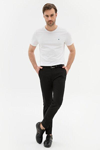 Pierre Cardin Erkek Siyah Slim Fit Chino Pantolon