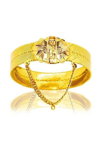 BİLEZİKHANE Diyarbakır Hasır Kelepçe 72,50 Gram 22 Ayar Altın