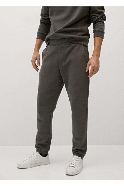 MANGO Man Sürdürülebilir Pamuklu Jogger Pantolon