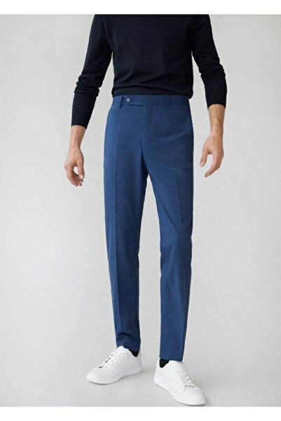 MANGO Man Dar Kesim Mikro Dokumalı Takım Pantolon