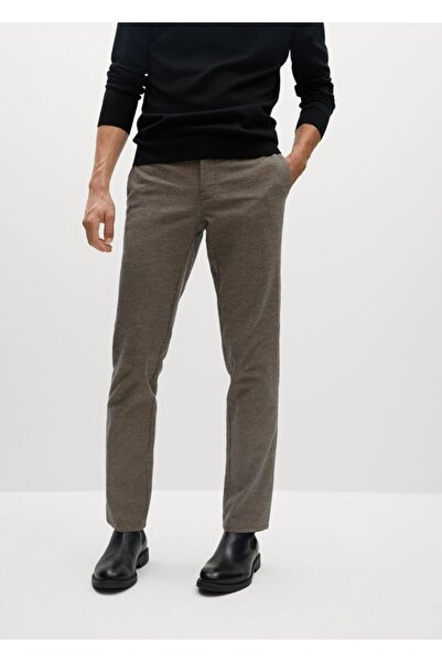 MANGO Man Dar Kesim Koton Pantolon