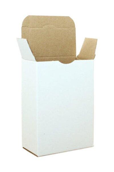 Unipak Küçük Ürün Hediyelik Eşya Kutusu 7,5x7,5x3 Cm - Beyaz 100 Adet