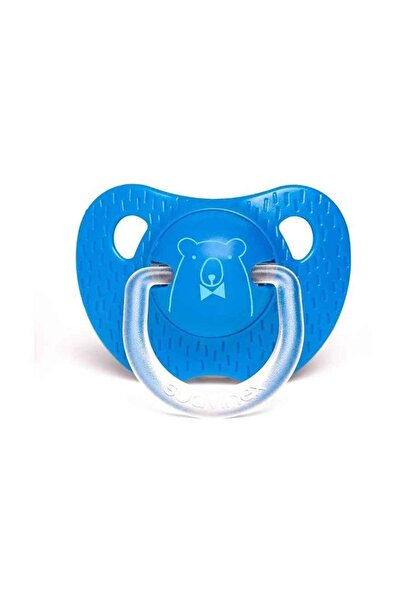 Suavinex Evolutıon Silikon Ortodontik Emzik (6-18 Ay) Bear Lacivert