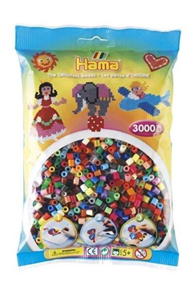 Hama Midi Boncuk 3.000'lik - 48 Renk