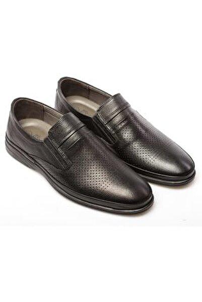 Seta Hakiki Deri Erkek Günlük Delikli Yazlık Ayakkabı