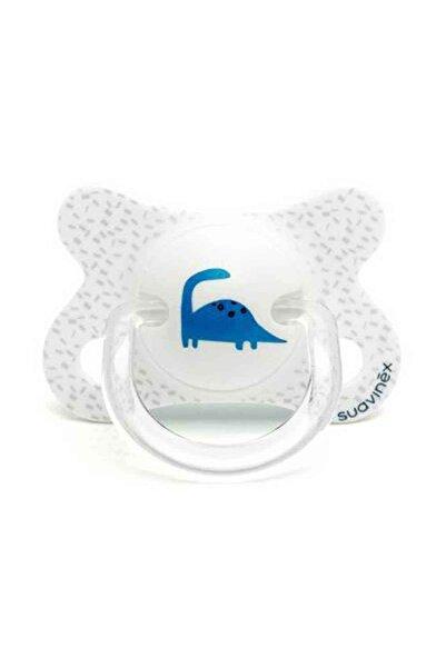 Suavinex Fusion Ortodontik Silikon Emzik -2/4 Ay Beyaz