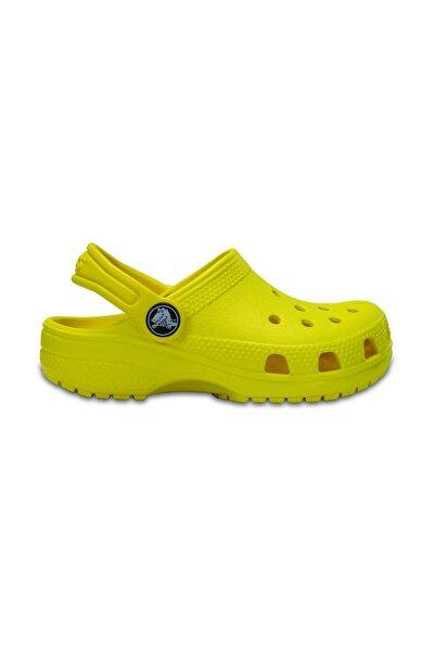 Crocs Kids CLASSIC CLOG K KIDS Sarı Unisex Çocuk Terlik 100528417