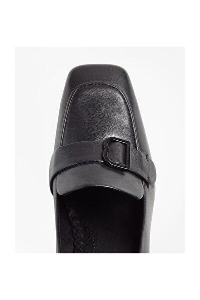 BROOKS BROTHERS Kadın Siyah Topuklu Ayakkabi 1-00091405