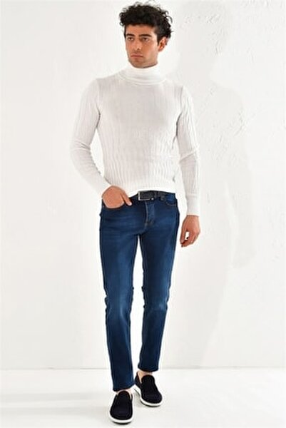 050 Slim Fit Mavi Jean Pantolon