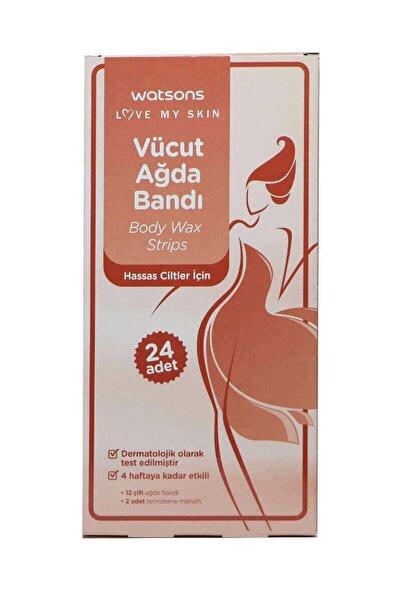 Watsons Body Wax Strips 24pcs For Sensitive Skin 2399900906016