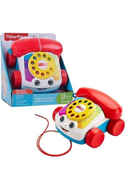 FISHER PRICE Eğitici Geveze Telefon Sürüklenebilir Çevirmeli Oyun Telefonu - Fgw66