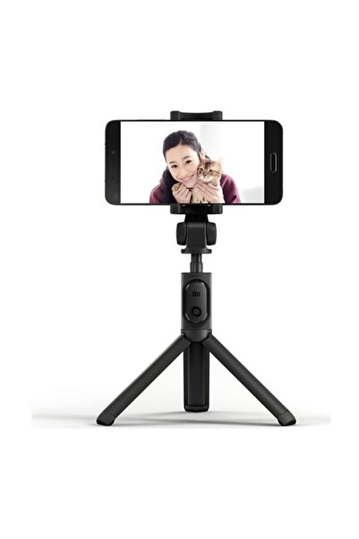 Xiaomi Bluetooth Kumandalı Orjinal Selfie Çubuğu - Monopod - Tripod Siyah