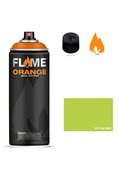 Flame Orange 400ml Sprey Boya N:640 Kiwi Light 5700008