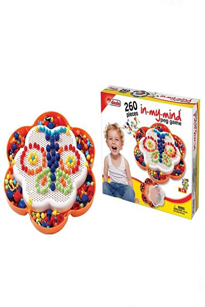 FEN TOYS Dede Mozaik Çivi Oyunu Lego Seti İn My Mind 260 Parça 01144 /