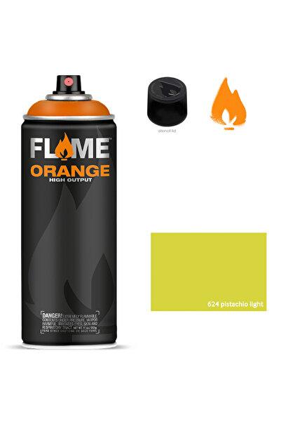 Flame Orange 400ml Sprey Boya N:624 Pistachio Light 5700001