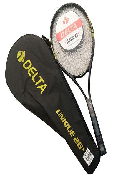 Delta Unique 26 İnç Tek Parça Çantalı Kort Tenis Raketi