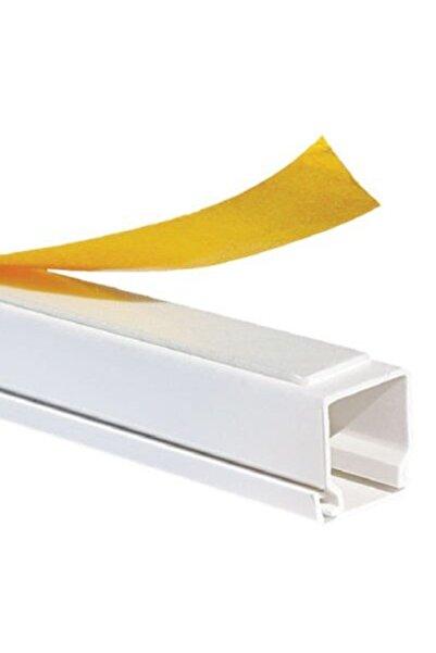 Mutlusan 12x12-1 Boy 2 Metre Kablo Kanalı Canalex(YAPIŞKAN BANTLI)