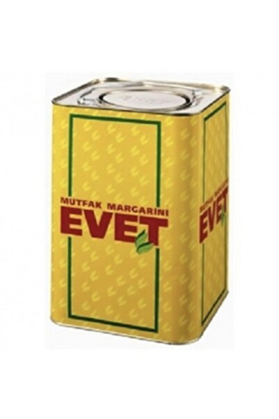 EVET MARGARİN Yemeklik Margarin 18 Kg