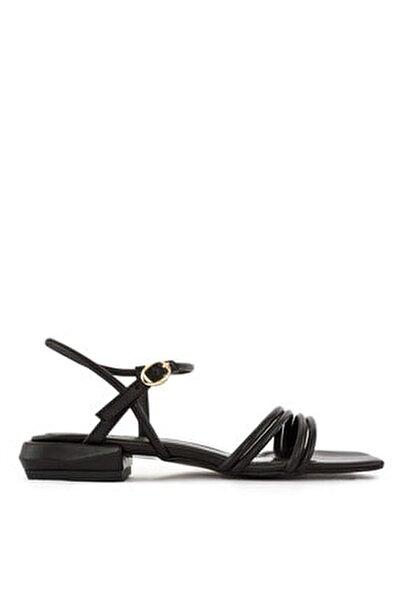 Düz Siyah  Sandalet