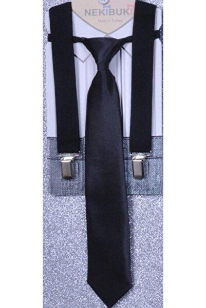 NEKİBUKİ Kravat Pantolon Askı Seti