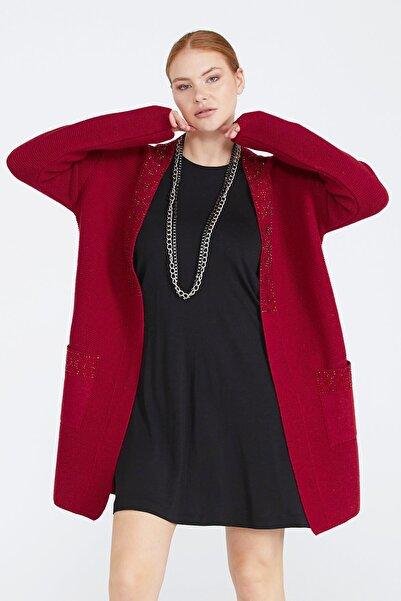 Sementa Kadın Cepli Triko Ceket