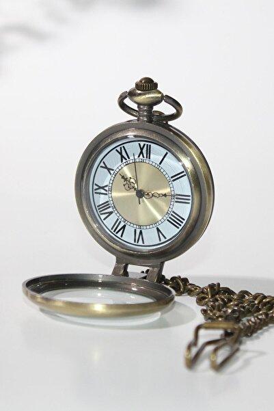 Gezginimport Roma Rakamlı Köstekli Cep Saati